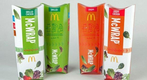 McDonald's global same-store sales slid in April, but its U.S. results got a boost from the launch of the McWrap.