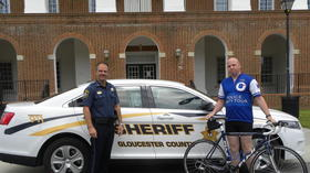 Police Unity Tour visits Gloucester on Friday