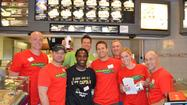 On Tuesday, May 7, LT held a McTeacher's Night at the La Grange McDonald's to raise money for the J. Kyle Braid Leadership Foundation. Teachers took over the restaurant serving up delicious meals to students and families to raise money for the foundation. The McTeacher jobs included; drive-thru teachers, greeters, teachers cleaning the lobby, front counter teachers, teachers clearing tables, and teachers making smoothies and shakes. The teachers working included the following: Abby Buhrandt, Bryan Bergman, Jon Beutjer, John Derning, Toby Casella, Leilani Lopez, Brad Anderson, Kurt Johns, and Sheldon Harris. A very very special thank you goes out to Abby Buhrandt who worked very hard to organize the event. A very special thank you to Candy Fay from LTTV who came out to cover this great event and capture the memories on film.