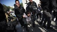 JERUSALEM -- Israeli police on Wednesday detained and questioned a top Palestinian cleric about clashes that took place a day earlier in Jerusalem's Old City.