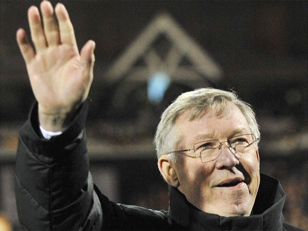 Alex Ferguson has led Manchester United to 13 Premier League titles in 27 years as the team's manager.