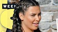 Kim Kardashian's bikini bump