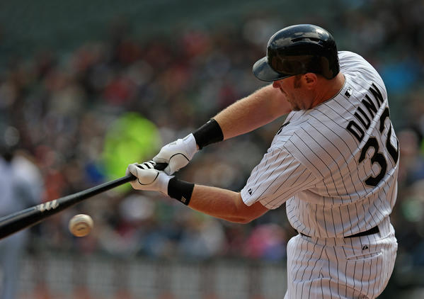 Adam Dunn of the Chicago White Sox.