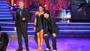 Aly Raisman, Mark Ballas, Tom Bergeron