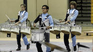 District holds year's final drumline and color guard showcase