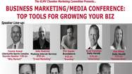 "Looking for new ways to market your business? The Green Oaks, Libertyville, Mundelein, Vernon Hills (GLMV) Chamber of Commerce presents a Spring ""Marketing/Media Conference, Top Tools For Growing Your Biz"", May 15, 7:15-Noon at College of Lake County Southlake Campus, 1120 S. Milwaukee Ave., Vernon Hills. Industry experts will share their insights and ideas, and available marketing tools to help businesses of all types and sizes achieve success. Speakers include: Connie Kowal, Libertyville Sports Complex; John Rudnick, Mustang Internet Services; Bruce Himmelblau, Blue Sky Video; Phil Gaytor, Brandstorm; Eddie Soto, E.S. Online Enterprises; and various other media representatives. Topics covered include print and online media, e-marketing, social media, advertising and branding. Cost: $15 advance members /$20 at door or non-members. RSVP to www.glmvchamber.org  or 847-680-0750 or info@glmvchamber.org"