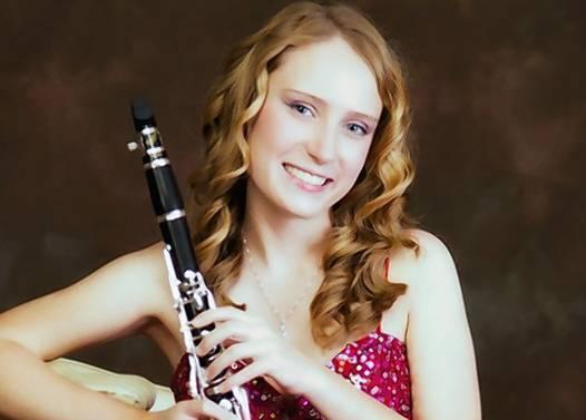 Clarinet player Arianna Beyer of Mount Dora.
