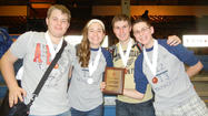 Lemont High School's Mathletes squad competed at the 2013 Illinois Council of Teachers of Mathematics (ICTM) State Finals on the campus of the University of Illinois, Urbana-Champaign on May 4, and finished 11th in Division 3AA. Lemont, which saw its students earn two top-ten finishes at the event, now has finished among the state's top 20 in its division five of the last six years. The team placed among the top 20 in all 12 of the competition's events, which helped it become the recipient of the Richard Rhoad Award as its division's most improved team.