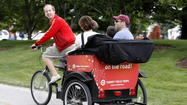 Ald. Tom Tunney (44<sup>th</sup>) is resurrecting a proposal to license and regulate pedicabs.