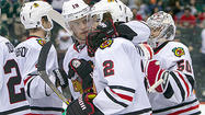As midnight approached in a giddy Blackhawks locker room Tuesday, Duncan Keith was in the middle of his first night as a father and his second straight without sleep, all smiles but also not nearly certain about what day of the week it was. He was a man who knew something about not quite being all there.