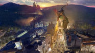 After a year of construction, Universal Orlando  has finally admitted that the Wizarding World of Harry Potter will expand in 2014 with a detailed re-creation of London's Diagon Alley from the wildly popular series of books and movies.