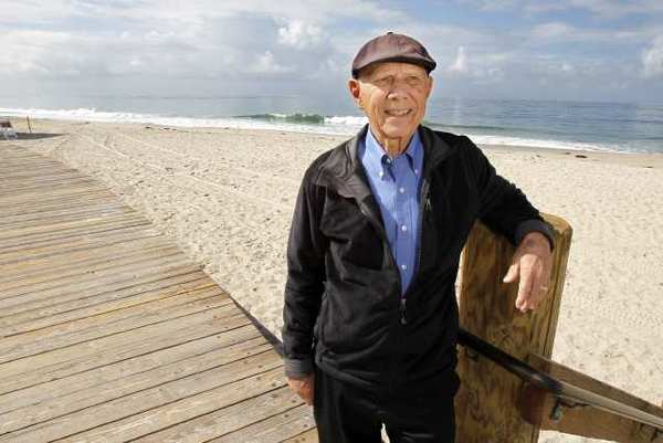 Don Black, 89, received the Laguna Beach Interfaith's Council Compassionate Citizen Award for his service to the homeless.