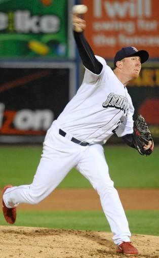 The IronPigs' Zach Miner joins the rotation to replace Tyler Cloyd.