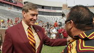 TALLAHASSEE -- Florida State athletics director Randy Spetman is a candidate for a similar open position at Rutgers, according to a report published Wednesday night.
