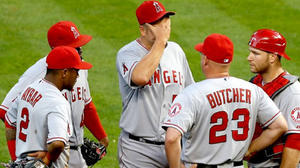 Angels can't hit their way out of a tailspin, lose to Houston, 3-1