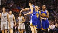 SAN ANTONIO -- No lead is safe against the San Antonio Spurs, but the Golden State Warriors learned how to hold on to one in Game 2 as they evened their Western Conference semifinal series.
