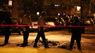 A 47-year-old man was shot dead on Green Street on the Far South Side and nine others were wounded across the city Wednesday night.
