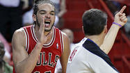 MIAMI --- At least according to Joakim Noah, the sky isn't falling.