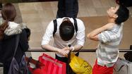 Teens and bargain hunters propelled retail sales in April, but couldn't save the industry from the dampening effects of chilly weather and continuing economic worries.
