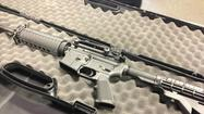 Five weeks after Gov. Dannel P. Malloy signed a gun control law outlawing any retail sales for the entire product line of Stag Arms, the maker of military-style rifles unveiled a new design Thursday that its owner said will not be subject to the Connecticut ban.
