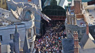 Universal Orlando Harry Potter expansion pictures