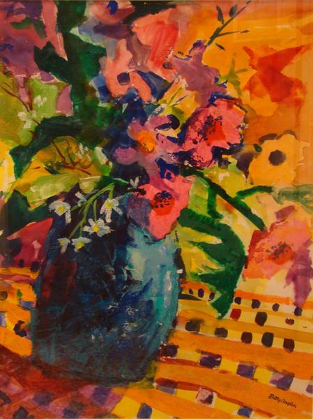 """Riotous Color,"" by Newport News artist Betty Anglin"