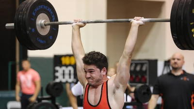 All-area weightlifting: Lifter of year celebrates title with more workouts