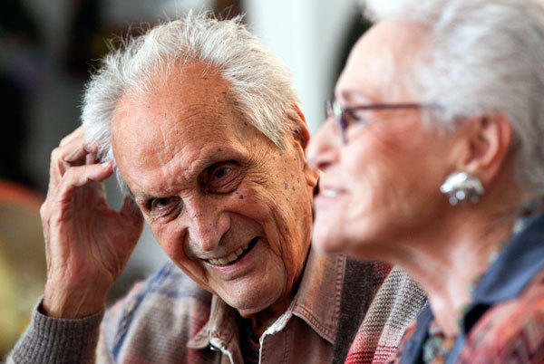 Notable deaths from 2013: Ottavio Missoni(seen here with his wife), founder of the global family fashion empire that spawned the no-bra look and revolutionized textile patterns with its trademark bold stripes and zig-zag patterns, died at age 92.