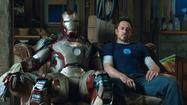 "The delightful ""Iron Man 3"" opens and finishes with a big ""wow"" as the sarcastically brilliant Tony Stark creates new armor that can be summoned onto the body at will, a technical display that amuses and thrills."