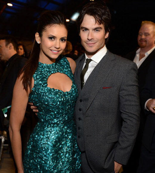 2013 Celebrity Splits: These Vampire Diaries co-stars split in May 2013 after dating for over three years.