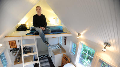 Thinking small: Compact, cheaper living in 'tiny houses'