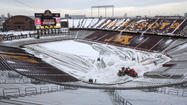 MINNEAPOLIS, Minn. -- The Minnesota Vikings and the University of Minnesota have reached an agreement for the NFL team to play at the college's TCF Bank Stadium during the construction of the franchise's new building.
