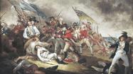 Was the Revolutionary War a reactionary war? 'Bunker Hill' reconsiders history.