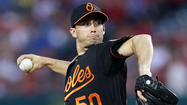 The Orioles have placed right-hander Miguel Gonzalez on the 15-day disabled list with a blister on his right thumb and called up right-hander Alex Burnett from Triple-A Norfolk to take his roster spot.