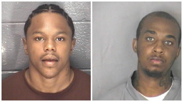 Evan Francis Stephens, left, and Adam Abdullah Brewer pleaded guilty to murder in the 2009 death of Johnny Lee Purdie, according to the Hampton Circuit Court's office. Purdie was 23.