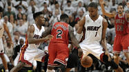 Nate Robinson's amazing postseason run continued Wednesday even during a 115-78 blowout loss to the Miami Heat.