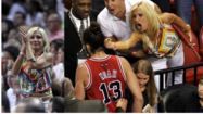 The photo of Filomena Tobias extending a middle finger to ejected Chicago Bulls center Joakim Noah at May 8's game against the Miami Heat went viral. USA TODAY Sports photographer Steve Mitchell captured a moment that captured the emotion of an intense sports rivalry. But if you were an editor, would you put it in the newspaper?