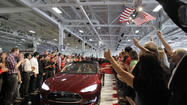 It's been a very good week for Tesla Motors Inc., the little electric car company that can -- with a little boost from the state of California and other automakers, that is.