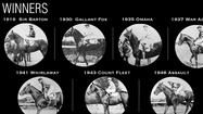 Triple Crown winners through history