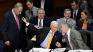 WASHINGTON -- Senators on Thursday began the arduous task of going through some 300 proposed amendments to the delicately constructed bipartisan immigration bill. By lunch, they had disposed of 17.