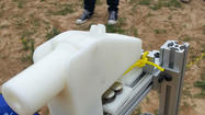 A plastic gun made almost entirely with a 3D printer was fired last week, marking the first time ever a functioning firearm has been created with the technology.