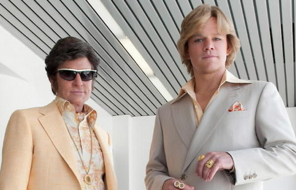 "Michael Douglas and Matt Damon star in ""Behind the Candelabra."""