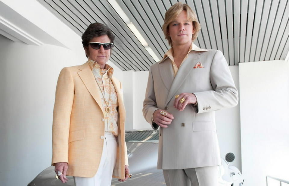 "Michael Douglas and Matt Damon star in ""Behind the Candelabra."""