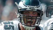 Former Philadelphia Eagles starting linebacker Chris Gocong and Penn State undrafted free agent linebacker Pete Massaro are among the 18 players who have been invited by the Eagles to this weekend's rookie minicamp on a tryout basis only.