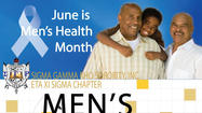 Please plan on joining the Ladies of Eta Xi Sigma Alumnae Chapter, Oak Lawn IL of Sigma Gamma Rho Sorority, Inc. We will be celebrating Men's Health Month on Saturday, June 22, 2013 at the Victory Apostolic Church, 20808 S Matteson Ave in Matteson IL. Members of Eta Xi Sigma Alumnae Chapter will partner with other organizations to host a Men's Health Fair from 10 a.m. until 1 p.m. This free event will provide information on health related programs and offer free health screening to participants. Some of the topics that will be offered at the information tables will be Nutrition, Men's Cancer issues, Diabetes, Arthritis, and Heart Information from the American Heart Association. There will be Blood Pressure Screening, Fitness Moments and a speaker will address the audience on Anger Management issues. Men of all ages, their friends and family members are invited to attend this event to receive important information on healthcare and well-being. For further information please contact Pamela Sanner at communityservice@etaxisigma.net or by phone or text at 708-320-1922. You can also visit us at www.etaxisigma.net or on Facebook at www.facebook.com/EtaXiSigmaAlumnaeChapter and on Twitter, @EtaXiSigma.