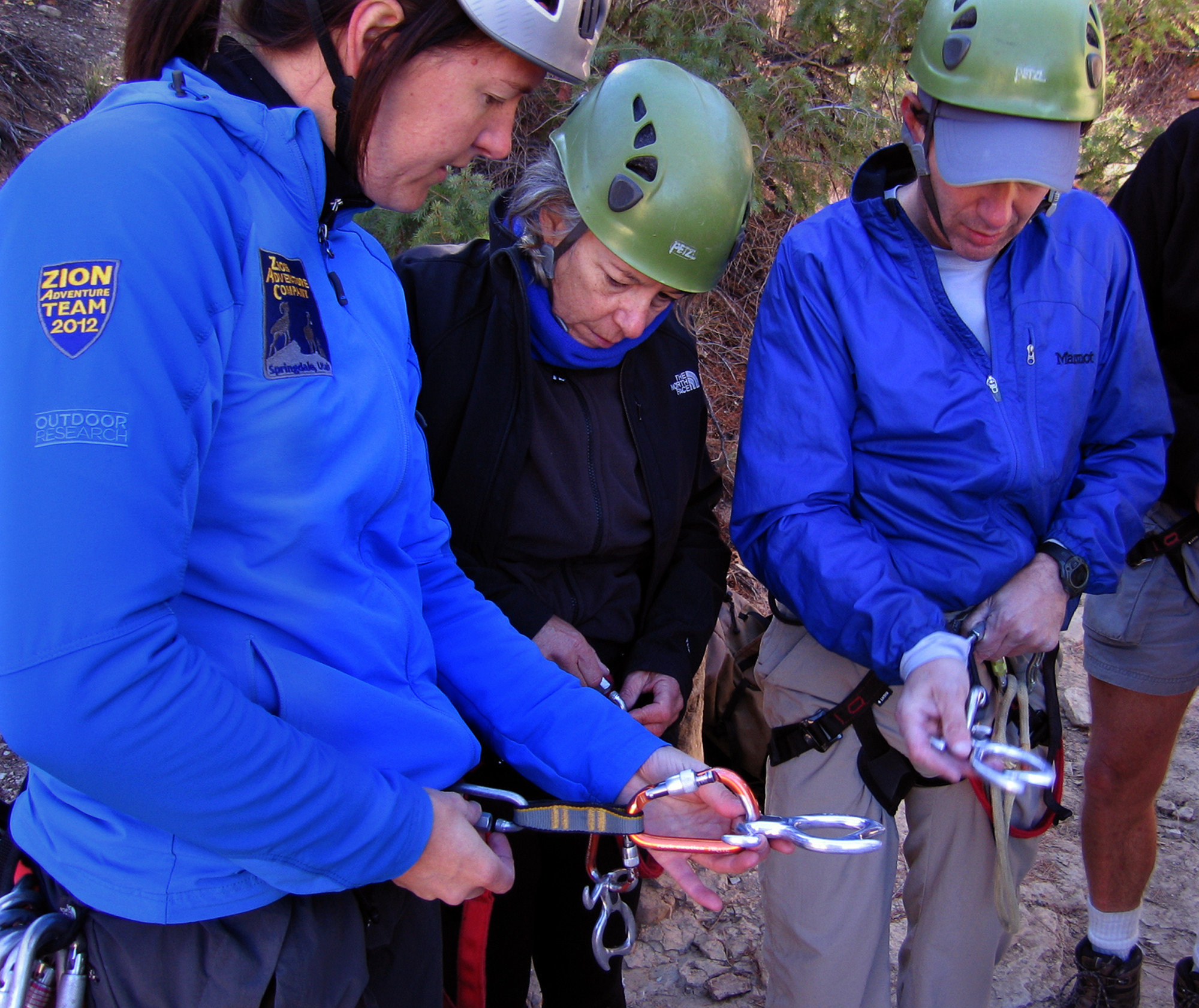 Canyoneering in Utah - Equipment lesson