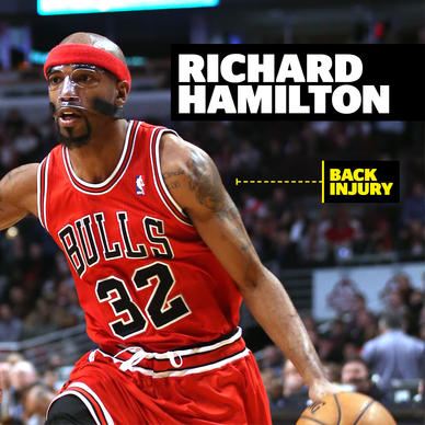 It'd be nice if the Bulls had 2008 Rip Hamilton. But they don't. So he's been practically i