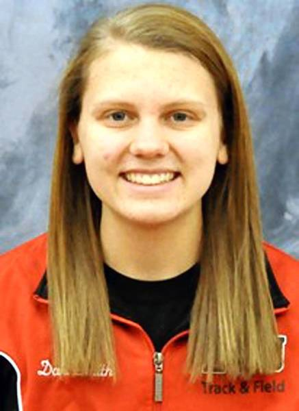 Danielle Smith of ESU.
