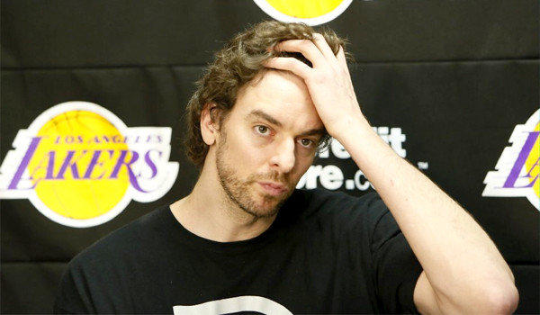 After undergoing a knee procedure, Pau Gasol sat out from basketball-related activities for more than 12 weeks.