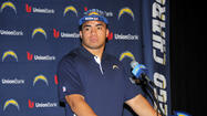 "<span style=""font-size: small;"">Former Notre Dame All-American Manti Te'o didn't waste any time</span><span style=""font-size: small;""> signing his first professional football contract.</span>"